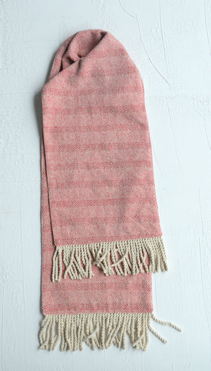 Woven Table Runner with Fringe