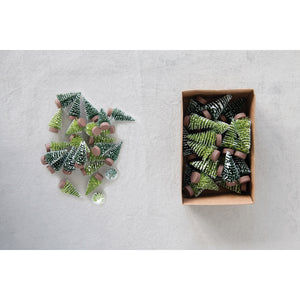 Box of Mini Bottle Brush Trees