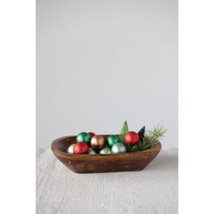 Rustic Oval Bowl
