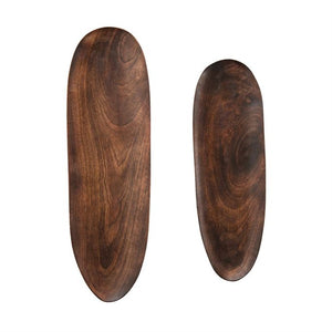 Mango Wood Tray - Set of 2