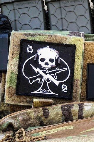 Disco 32 Velcro Patch - DISCO32 TACTICAL ANTENNAS