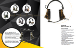 3M™ PELTOR™ ComTac™ V Headset, Dual Lead - DISCO32 Tactical Antenna Systems