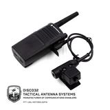 U-94/A - Motorola 2 Pin - DISCO32 Tactical Antenna Systems