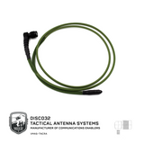 Vest Mounted Antenna System TNC 90° - DISCO32 Tactical Antenna Systems