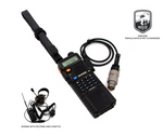 M55116 to Kenwood    2 Pin - DISCO32 Tactical Antenna Systems
