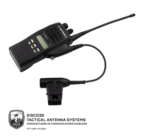 U-94/A - Motorola X33 Multi-Pin - DISCO32 TACTICAL ANTENNAS