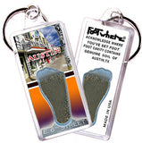 Austin FootWhere® Souvenir Keychain. Made in USA-FootWhere® Souvenirs