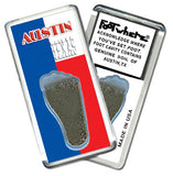 Austin FootWhere® Souvenir Fridge Magnets. 6 Piece Set. Made in USA-FootWhere® Souvenirs