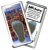Birmingham FootWhere® Souvenir Fridge Magnets. 6 Piece Set. Made in USA - FootWhere® Souvenirs