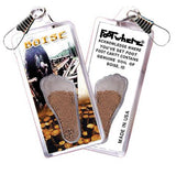 Boise FootWhere® Souvenir Zipper-Pull. Made in USA-FootWhere® Souvenirs
