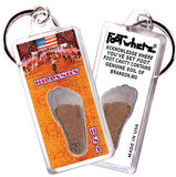 Branson FootWhere® Souvenir Keychain. Made in USA - FootWhere® Souvenirs
