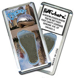 Chicago FootWhere® Souvenir Magnet. Made in USA-FootWhere® Souvenirs