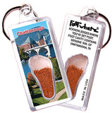 Chattanooga FootWhere® Souvenir Keychains. 6 Piece Set. Made in USA-FootWhere® Souvenirs