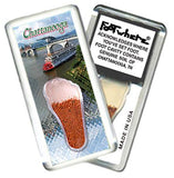 Chattanooga FootWhere® Souvenir Magnet. Made in USA-FootWhere® Souvenirs