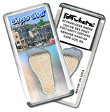 Cape Cod FootWhere® Souvenir Magnet. Made in USA-FootWhere® Souvenirs