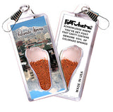 Colorado Springs FootWhere® Souvenir Zipper-Pulls. 6 Piece Set. Made in USA-FootWhere® Souvenirs