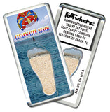 Clearwater FootWhere® Souvenir Fridge Magnets. 6 Piece Set. Made in USA-FootWhere® Souvenirs
