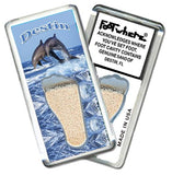 Destin, FL FootWhere® Souvenir Fridge Magnet. Made in USA-FootWhere® Souvenirs