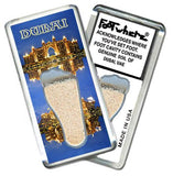 Dubai, UAE FootWhere® Souvenir Magnet. Made in USA-FootWhere® Souvenirs
