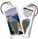 Grand Canyon, AZ FootWhere® Souvenir Keychain. Made in USA - FootWhere® Souvenirs