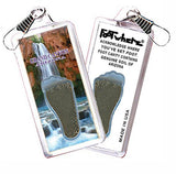 Grand Canyon, AZ FootWhere® Zipper-Pull. Made in USA - FootWhere® Souvenirs