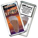 Gainesville, FL FootWhere® Souvenir Fridge Magnet. Made in USA - FootWhere® Souvenirs