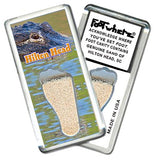 Hilton Head FootWhere® Souvenir Fridge Magnet. Made in USA - FootWhere® Souvenirs