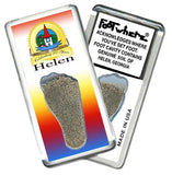 Helen, GA FootWhere® Souvenir Magnet. Made in USA - FootWhere® Souvenirs