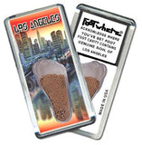 Los Angeles FootWhere® Souvenir Magnet. Made in USA - FootWhere® Souvenirs