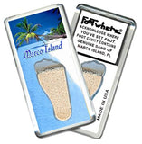 Marco Island FootWhere® Souvenir Fridge Magnet. Made in USA-FootWhere® Souvenirs