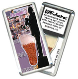 Memphis FootWhere® Souvenir Magnet. Made in USA-FootWhere® Souvenirs