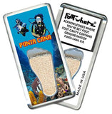 Punta Cana FootWhere® Souvenir Fridge Magnet. Made in USA-FootWhere® Souvenirs