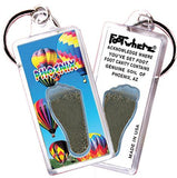 Phoenix FootWhere® Souvenir Key Chain. Made in USA-FootWhere® Souvenirs