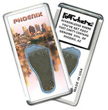 Phoenix FootWhere® Souvenir Magnet. Made in USA-FootWhere® Souvenirs