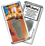 Palm Springs, CA FootWhere® Souvenir Fridge Magnet. Made in USA-FootWhere® Souvenirs