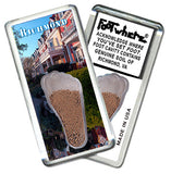 Richmond FootWhere® Souvenir Fridge Magnets. 6 Piece Set. Made in USA-FootWhere® Souvenirs