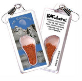 Mt. Rushmore FootWhere® Souvenir Key Chain. Made in USA-FootWhere® Souvenirs