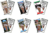 Selma FootWhere® Souvenir Fridge Magnets. 6 Piece Set. Made in USA-FootWhere® Souvenirs