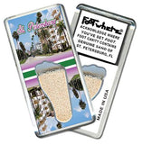 St. Petersburg FootWhere® Souvenir Fridge Magnet. Made in USA - FootWhere® Souvenirs