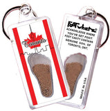 Toronto FootWhere® Souvenir Keychain. Made in USA-FootWhere® Souvenirs