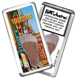 Toronto FootWhere® Souvenir Magnet. Made in USA - FootWhere® Souvenirs