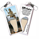 Virginia Beach FootWhere® Souvenir Zipper-Pull. Made in USA - FootWhere® Souvenirs