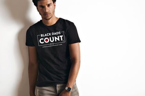Short Sleeve T-Shirt - Black Dads Count