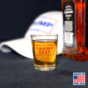 Trump 2020 Shot Glasses