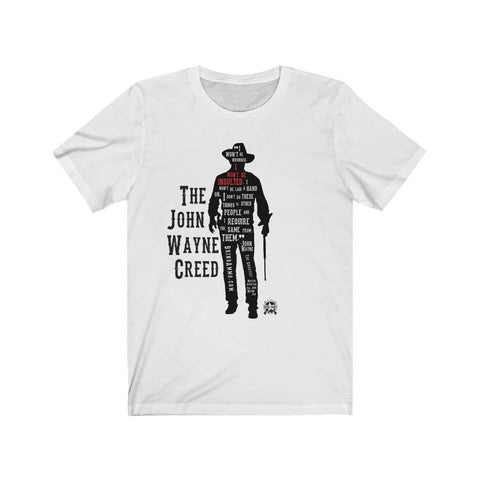 Image of The John Wayne Creed Premium Jersey T-Shirt