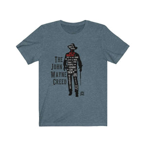 The John Wayne Creed Premium Jersey T-Shirt