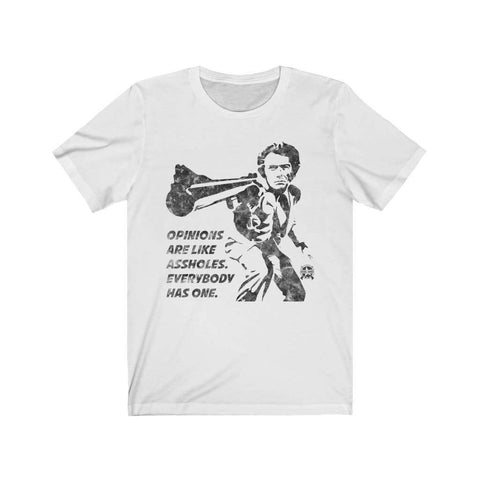 Image of Opinions Are Like Assholes... Dirty Harry Premium Jersey T-Shirt