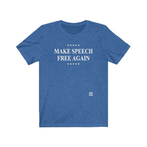 Make Speech Free Again Premium Jersey T-Shirt