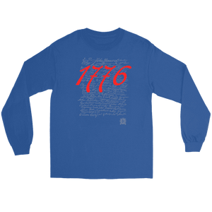 1776 Signers of the Declaration of Independence Signatures Long Sleeve T-Shirts