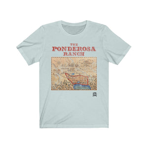 The Ponderosa Ranch from Bonanza Premium Jersey T-Shirt